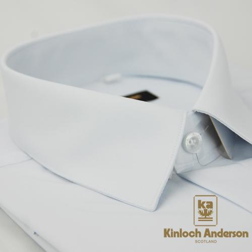 【金安德森】白色吸排窄版長袖襯衫