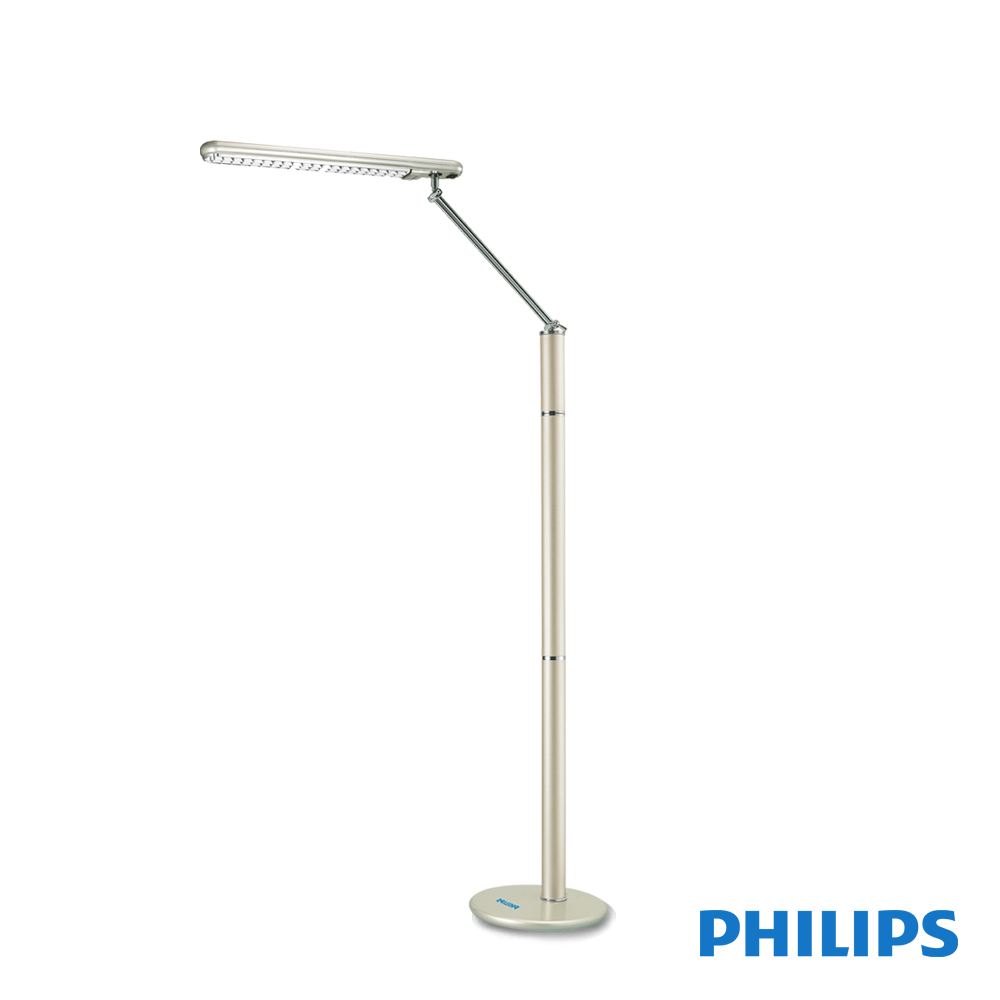 【飛利浦 PHILIPS LIGHTING】天秤座立燈(金)PLL36206