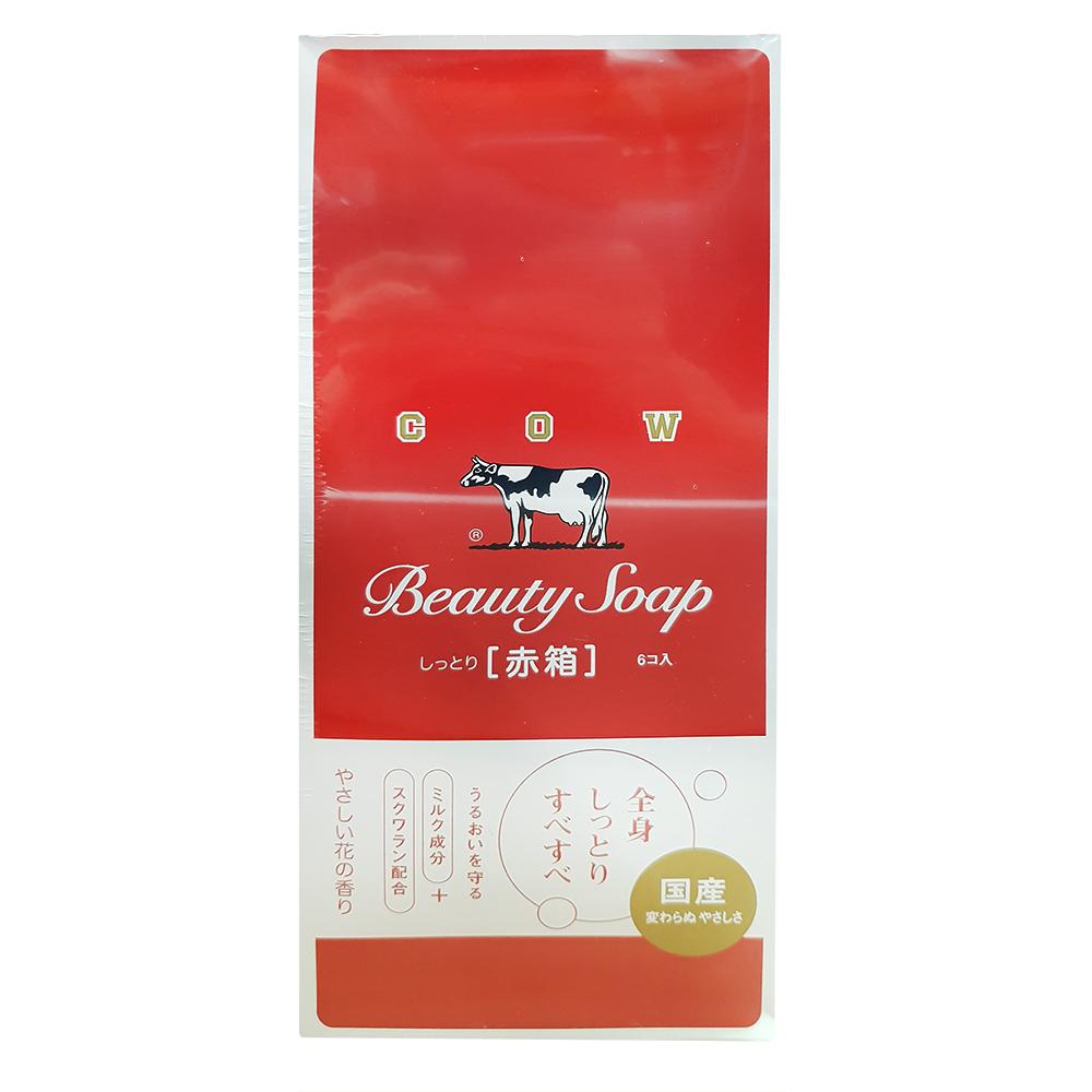 日本 牛乳石鹼 玫瑰保濕型香皂 100g 18入組