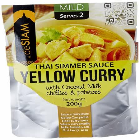 【deSIAM】泰式黃咖哩調理醬包200g