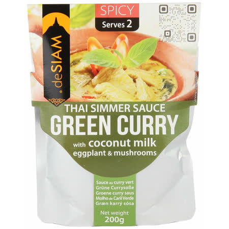【deSIAM】 泰式綠咖哩調理醬包200g