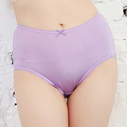 【Chlansilk闕蘭絹】寵愛優雅100%蠶絲女內褲-88901(紫)