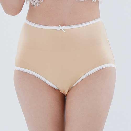 【Chlansilk闕蘭絹】粉嫩舒適透氣100%蠶絲女內褲-88903(膚)