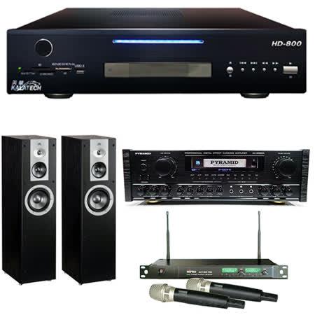 【美華 Kalatech】HD-800 點歌機 2TB+AK-9980A+ACT-869 PRO+STAGE