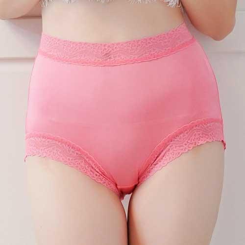 【Chlansilk闕蘭絹】頂級絲滑100%蠶絲女內褲-88797(粉)
