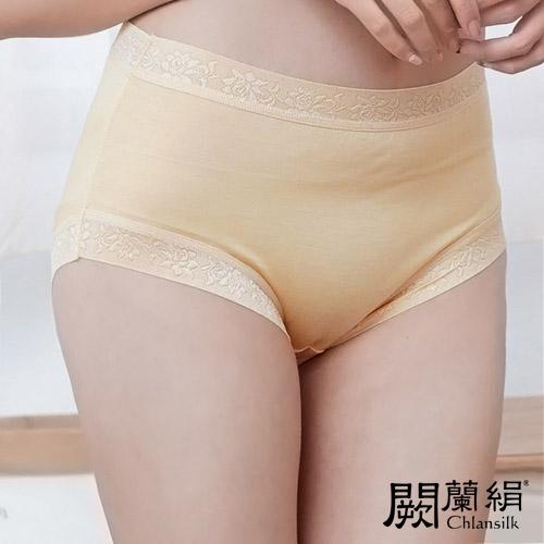 【Chlansilk闕蘭絹】舒涼無痕100%蠶絲女內褲-88904(膚)