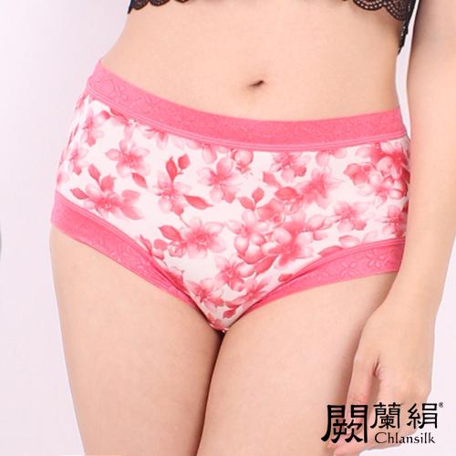 【Chlansilk闕蘭絹】氣質無痕100%蠶絲女內褲-8105(粉)(M)