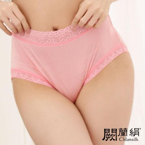 【Chlansilk闕蘭絹】簡約舒適100%蠶絲女內褲-881(粉)(M)