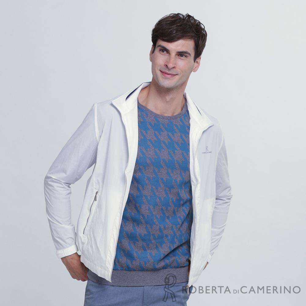 ROBERTA諾貝達  運動休閒 輕薄百搭 夾克外套 白色