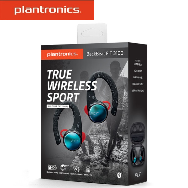 Plantronics 繽特力 BACKBEAT FIT 3100 真無線運動耳機