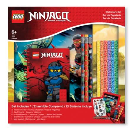 【LEGO樂高】 旋風忍者文具禮盒組