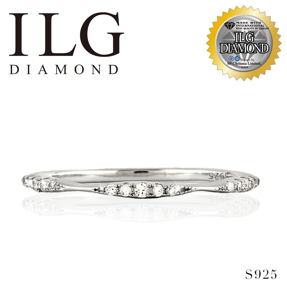 (新品搶先看)【頂級美國ILG鑽飾】八心八箭戒指 - RI190 - 新品線戒全新系列-媲美真鑽亮度的鑽飾