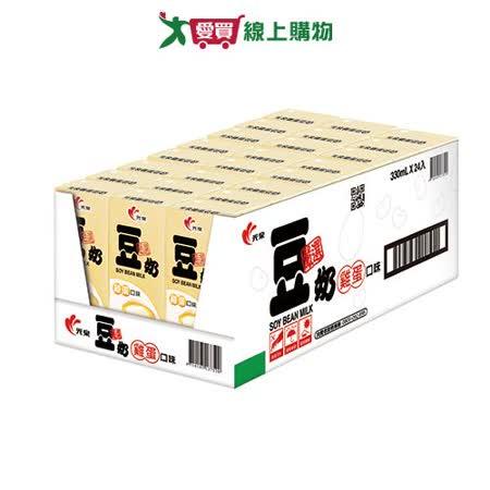光泉雞蛋豆奶330ml*24