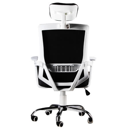 高背透氣 護腰網布電腦椅