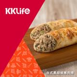 【KKLife-紅龍】台式黑胡椒豬肉捲 (180g/條;1條/包)