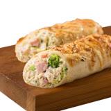 【KKLife-紅龍】美式香濃起司雞肉捲-2條組 (180g/條; 1條/包)