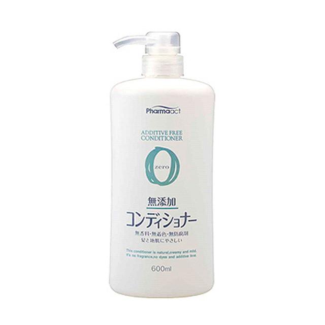 【熊野Pharmaact】無添加潤絲精-壓取式600ml