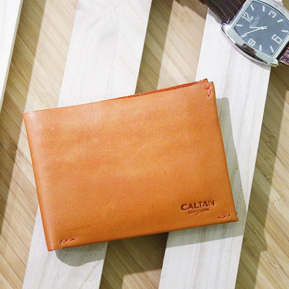 CALTAN-男用短皮夾 多功能 證件夾 名片夾 卡片夾 零錢包-1884org