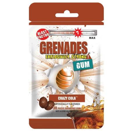 【Grenades Gum】手榴彈口香糖(瘋狂可樂)