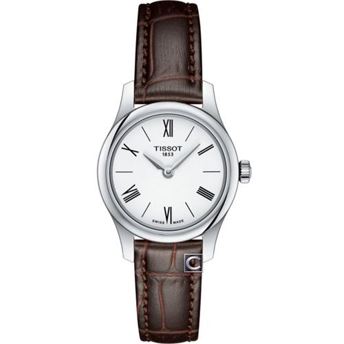 TISSOT天梭T-TRADITION超薄時尚錶 T0630091601800