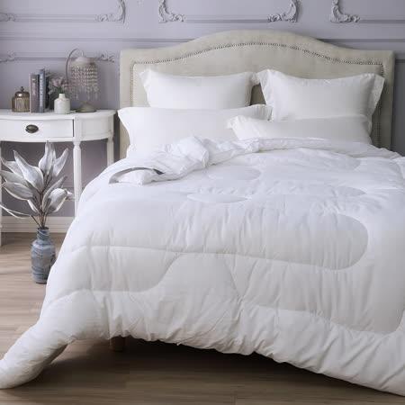 MONTAGUT-送2枕 防蹣蓄熱羊毛被