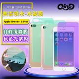 QinD Apple iPhone 7 Plus 抗藍光水凝膜(前紫膜+後綠膜)