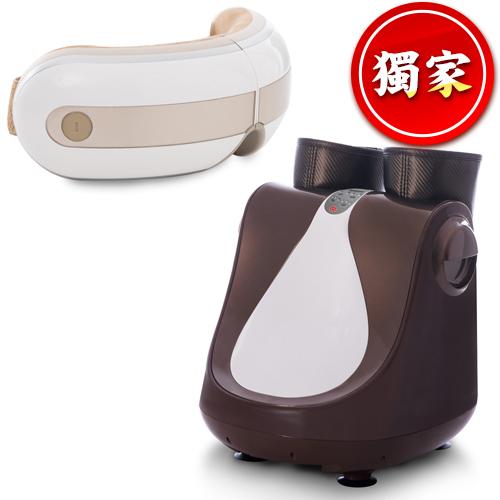 tokuyo 玩美IDOL美腿機+眼部按摩器 (TF-618+TS-181)