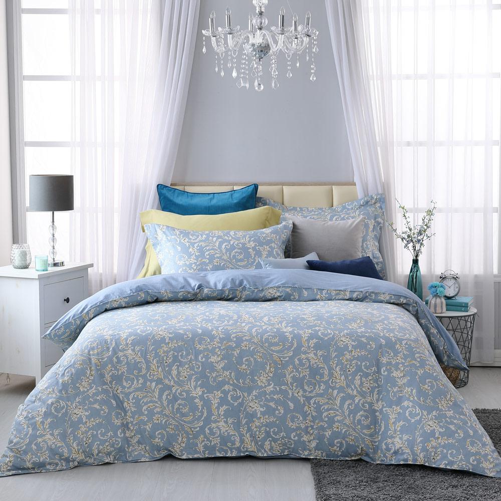 BBL 米迦勒 100%精梳棉印花加大兩用被床包組