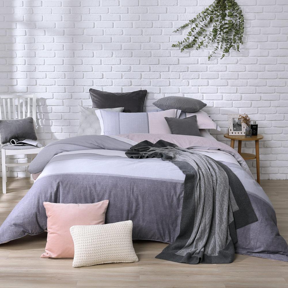 BBL 威尼斯 100%精梳棉印花雙人兩用被床包組