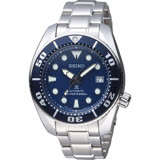 SEIKO PROSPEX 200米專業潛水機械錶 6R15-00G0A 藍色 SBDC033J1