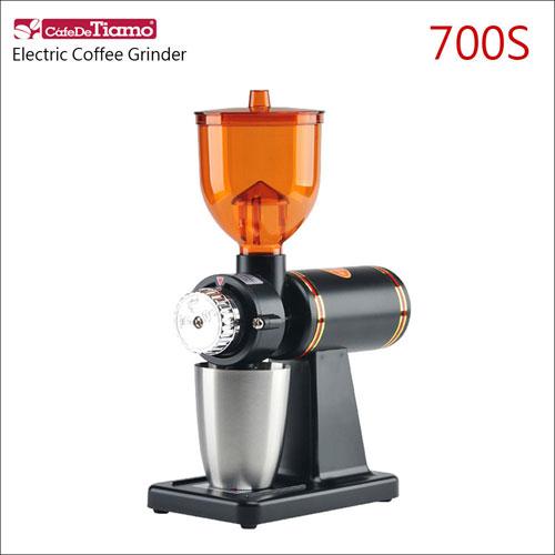 Tiamo 700S義式電動磨豆機-110V-消光黑 (HG0419MBK)
