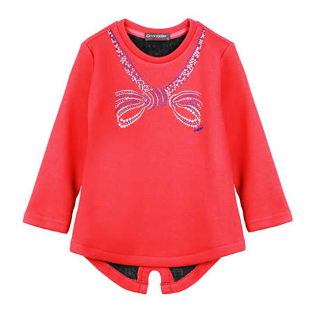 小鱷魚童裝 蝴蝶結洋裝