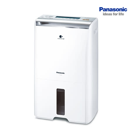 Panasonic 國際牌 8公升  ECO NAVI 清淨+除濕機