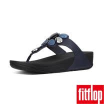 FitFlop™- (女款)HONEYBEE JEWELLED™ TOE-THONG-深藍色