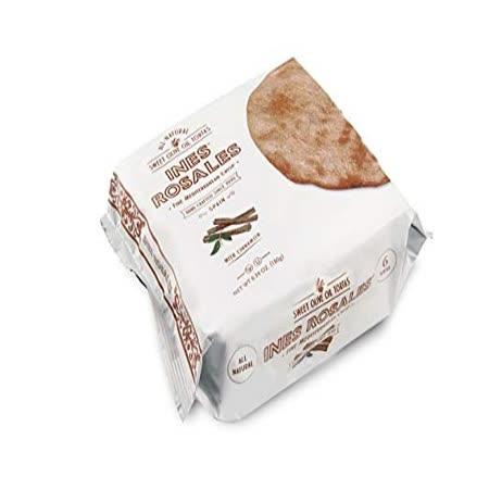 西班牙【INES ROSALES】手工肉桂橄欖油薄餅 180G