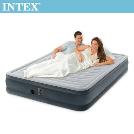 INTEX 豪華型橫條充氣床 (雙大)