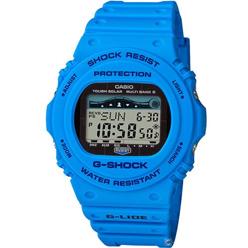 CASIO G-SHOCK G-LIDE頂級極限運動錶 GWX-5700CS-2