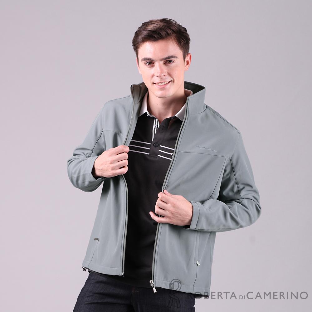 ROBERTA諾貝達 都會機能 輕薄防潑水夾克外套 灰色