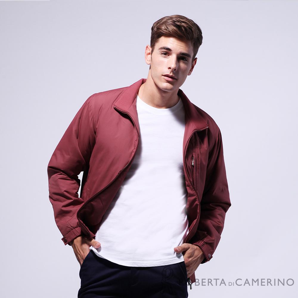 ROBERTA諾貝達 台灣製 都會機能 防潑水 厚鋪棉夾克外套 紅色