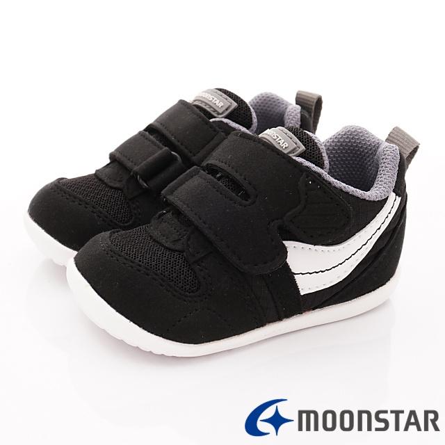 日本Carrot機能童鞋-HI系列寶寶穩定款-B77S6黑-12.5-16cm