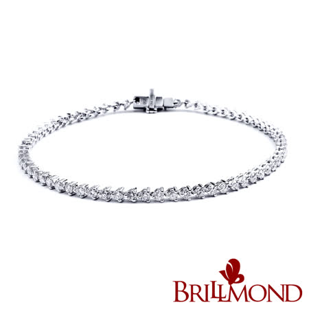 BRILLMOND 情繫一生鑽石手鍊