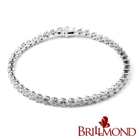 BRILLMOND (4克拉) 情繫一生鑽石手鍊