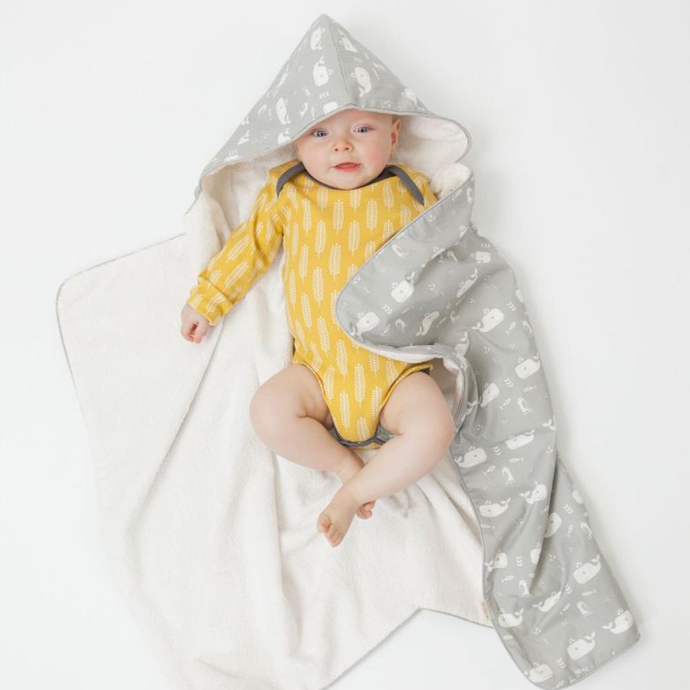 荷蘭 FRESK 有機棉嬰兒浴巾/ 保暖毯(多種款式)