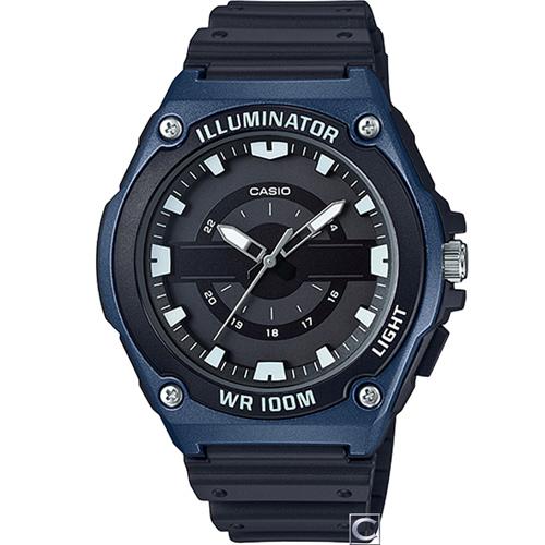 CASIO 100米防水休閒腕錶 MWC-100H-2A