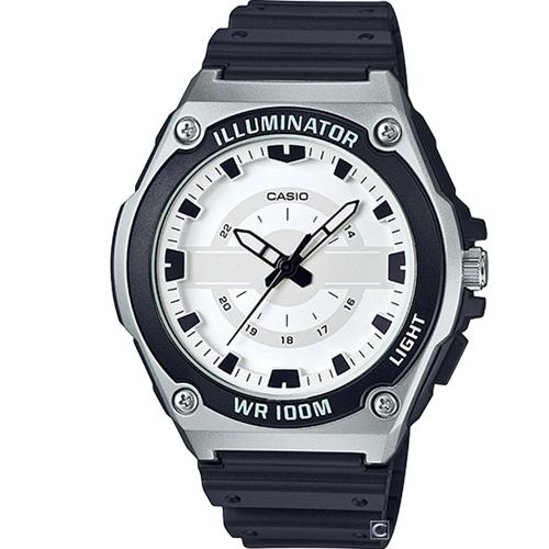 CASIO 100米防水休閒腕錶 MWC-100H-9A
