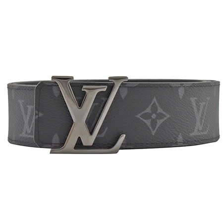 Louis Vuitton  字母飾扣雙面皮帶