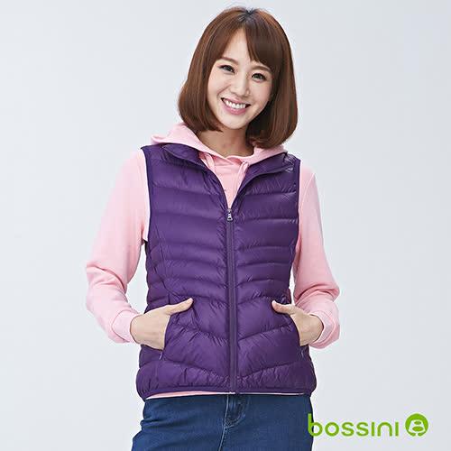 bossini女裝-輕羽絨背心01深紫