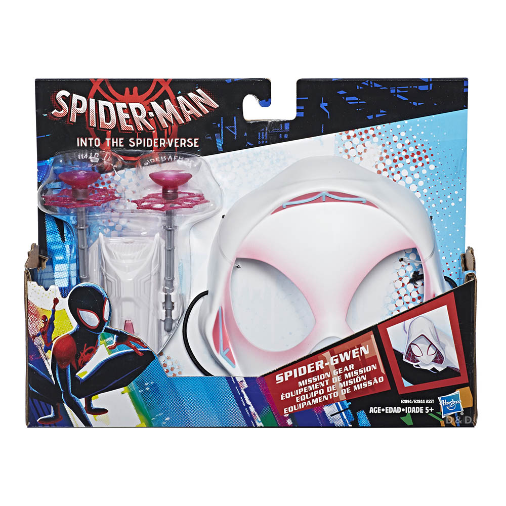 ~ 蜘蛛人:新宇宙 ~蜘蛛人動畫電影 任務扮裝玩具組 ~ Spider~Gwen