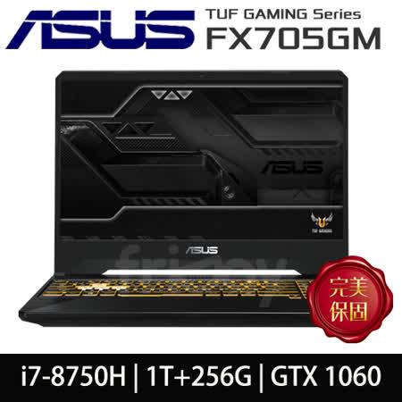 ASUS FX705GM電競 i7/雙碟/GTX1060筆電