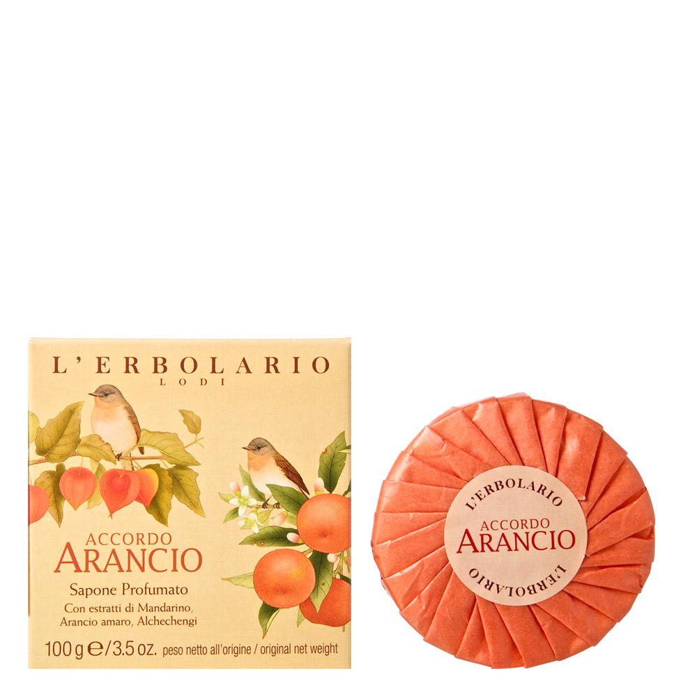橙香柑橘香氛植物皂 100g
